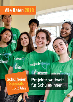 Projects Abroad Flyer - Schulferien – Specials