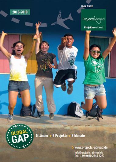 Projects Abroad Flyer - Global Gap