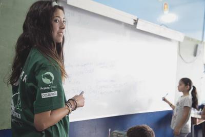 Unterrichte Englisch oder Französisch in deinem Freiwilligendienst in Costa Rica