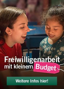 Freiwilligenarbeit mit kleinem Budget