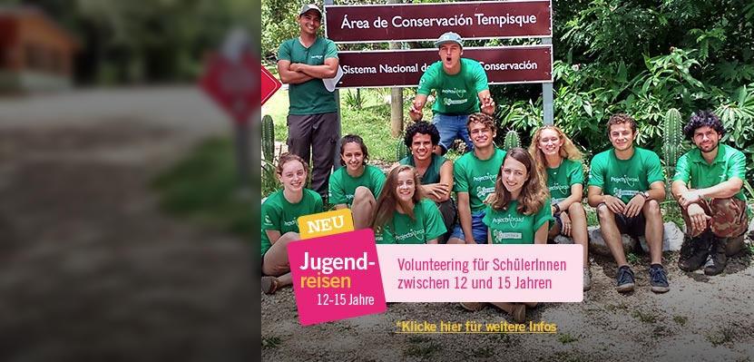 Jugendreisen ins Ausland für Schüler/innen zwischen 12 und 15 Jahren