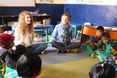 Betreue und unterrichte Kinder im 19+ Special in Nepal