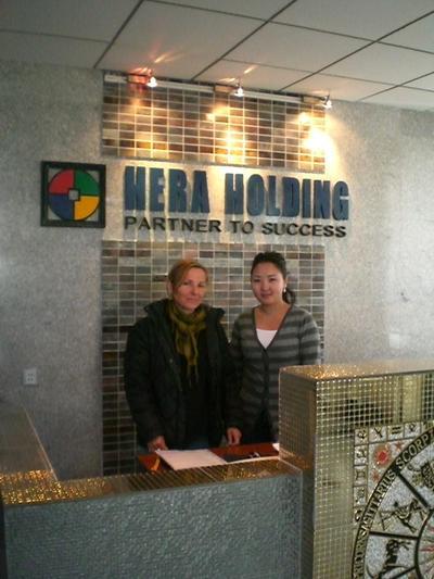 Unternehmenspraktikum in der Mongolei