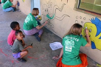Im Community Work – Projekt kannst du Teil einer Gemeinde auf den Fidschi – Inseln werden