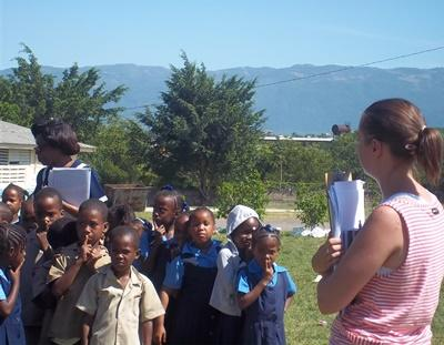 Katastrophenhilfe auf Jamaika
