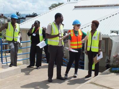 Katastrophen Management Freiwilligenarbeit auf Jamaika
