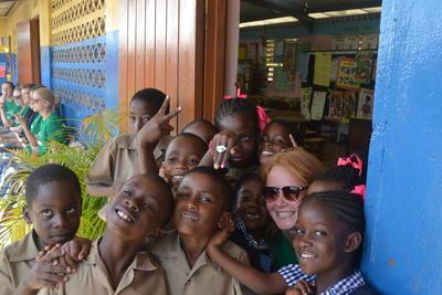 Community Work im Maroon - Projekt auf Jamaika