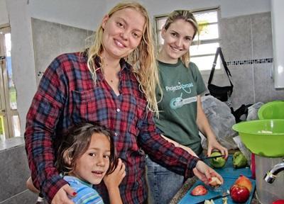 Ernährungs - Projekt in Bolivien