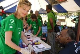 Beim Medical Outreach berätst du als Freiwillige/r im Ernährungs - Projekt auf den Fidschi - Inseln Dorfbewohner zu gesunder Ernährung und ausreichend Bewegung.