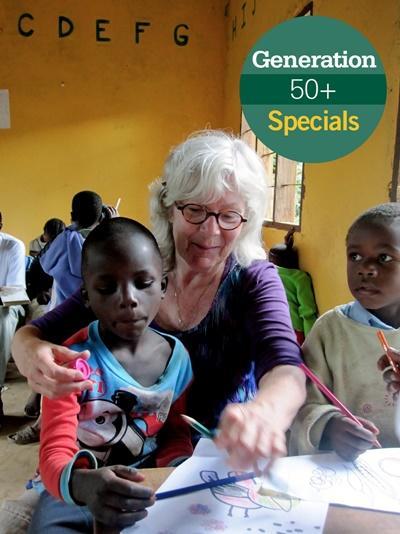 Freiwilligendienst Special für Freiwillige ab 50 Jahren