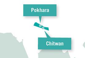 Weiter geht's nach Asien in das Dach der Welt Nepal! Hier verbringst du einen Monat deines Global Gapyears.