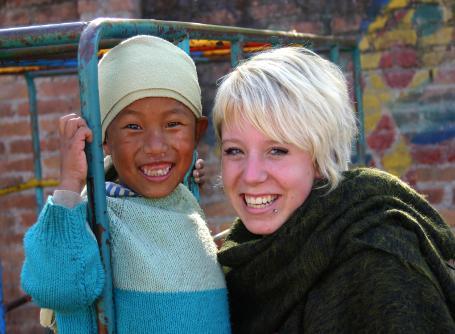 Leiste während deines Global Gap Auslandsjahres Freiwilligenarbeit in Nepal