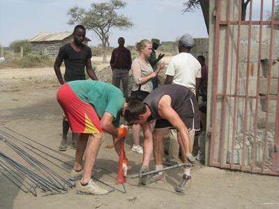 Hausbau-Projekt in Tansania