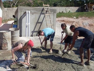 Hausbau in Jamaika