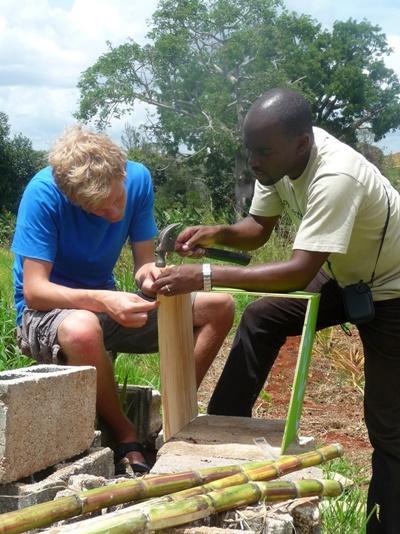 Hausbau-Projekt auf Jamaika