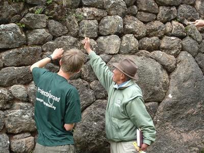 Archäologie-Projekt in Peru