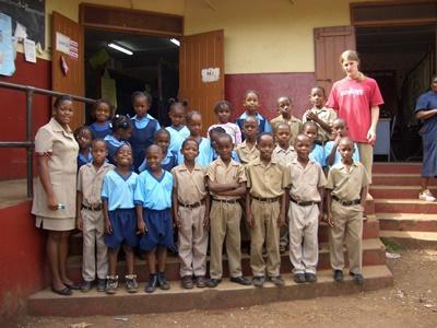 Computer-Projekt auf Jamaika