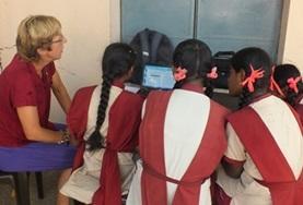 Projekte in Asien - Indien : Computer - Projekt