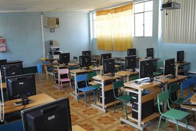 Computer-Projekt in Ghana