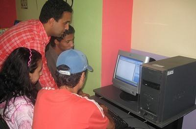 Computer-Projekt in Marokko