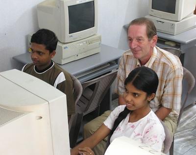 Computer-Projekt in Sri Lanka