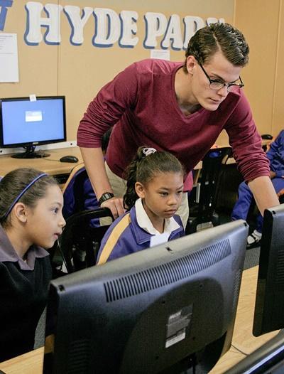 Computer-Projekt in Südafrika