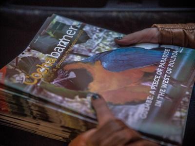 Im Journalismus - Praktikum in Bolivien produzierst du zusammen mit anderen Freiwilligen das Cochabanner Magazin.