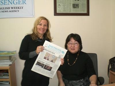 Journalismus-Praktikum Mongolei