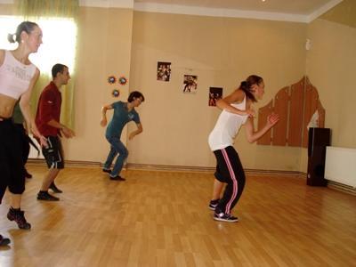 Tanz-Projekt in Rumänien