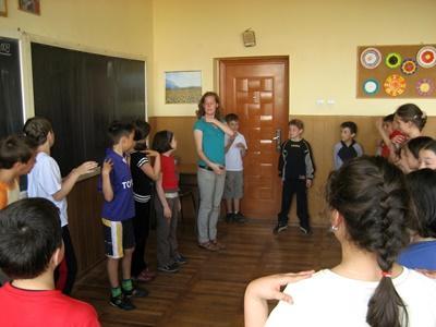 Theater-Projekt in Rumänien