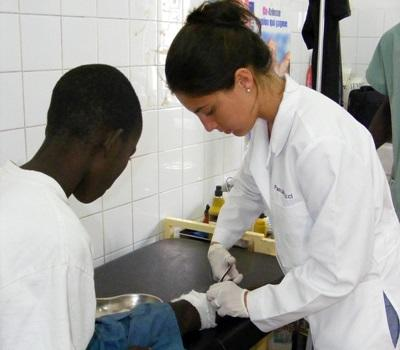 Medizin-Praktikum im Senegal