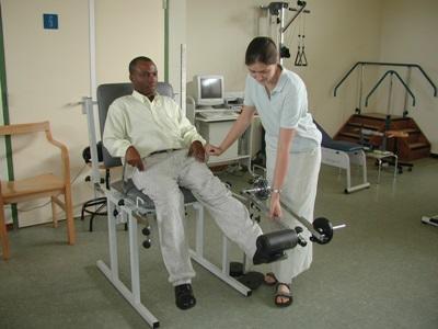 Physiotherapie-Praktikum Ghana