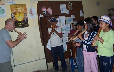 Musik-Projekt Bolivien