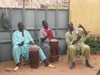 Musik-Projekt im Senegal