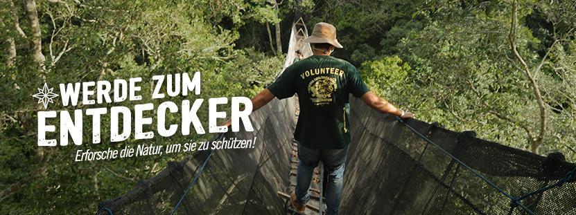 Freiwilligenarbeit Naturschutz im Ausland