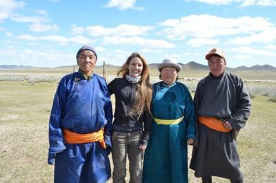 Nomaden-Projekt in der Mongolei