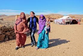 Projekte in Afrika - Marokko : Nomaden - Projekt