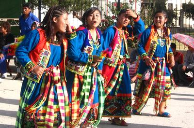 Setzte dich in Bolivien für Frauenrechte ein
