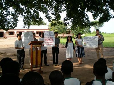 Menschenrechts-Praktikum Ghana