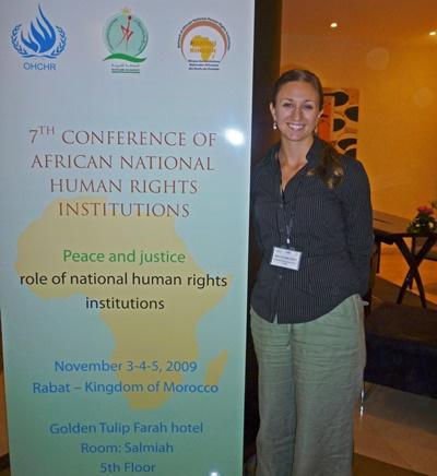 Menschenrechts-Projekt in Marokko