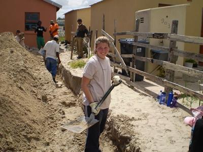 Hausbau - Projekt in Südafrika