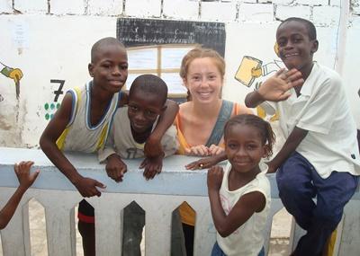 Hausbau  & Französisch Sprachkurs im Senegal