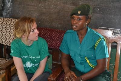 Arbeite im Schulferien  - Special Menschenrechte in Ghana an echten Menschenrechtsfällen