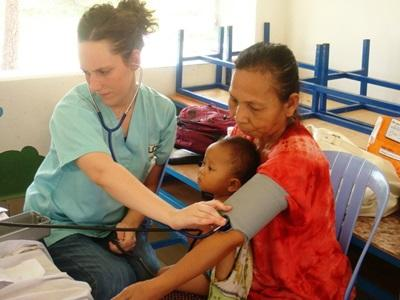 Medizin - Praktikum in Kambodscha