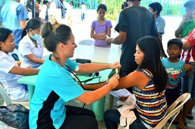 Public Health Freiwillige auf den Philippinen