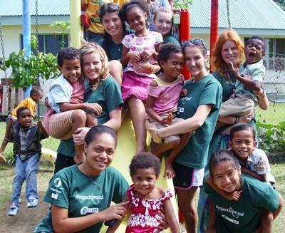 Sozialarbeit & Community Work im Dorf auf den Fidschi - Inseln