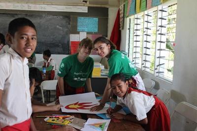 Freiwilligendienst im Schulferien – Special in Samoa