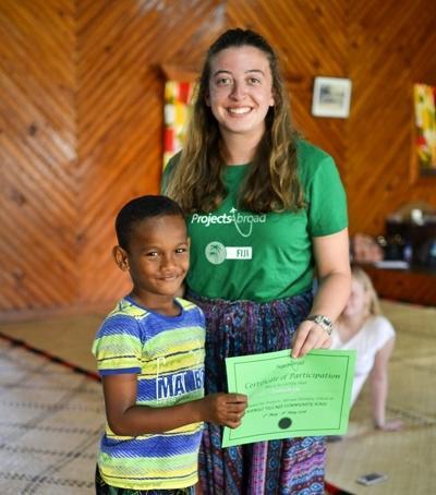 Im Schulferien - Special Sozialarbeit und Englisch auf den Fidschi - Inselns