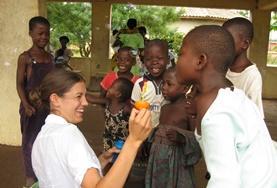Im Freiwilligendienst Sozialarbeit in Ghana wirst du mit Kindern in Kindertagesstätten oder mit Kindern mit speziellen Bedürfnissen zusammenarbeiten.