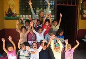 Auch du bist als Freiwillige/r in unseren sozialen Partnereinrichtungen in Peru herzlich willkommen.